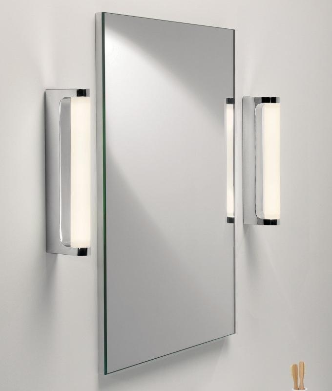 Polished Chrome LED Bathroom Mirror Light IP44