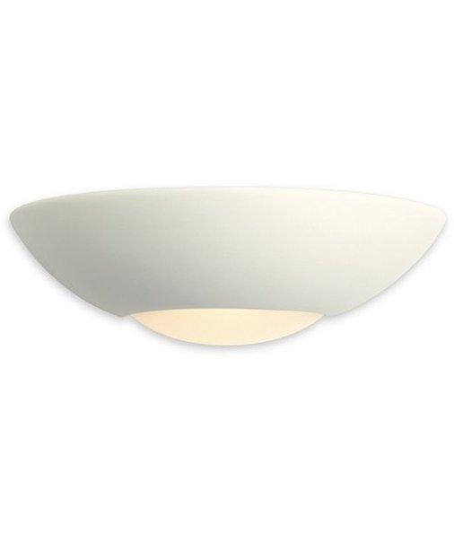 Low Energy Half Moon Ceramic Wall Light