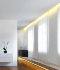 Recessed Plaster Lighting for Wall Washing Effect