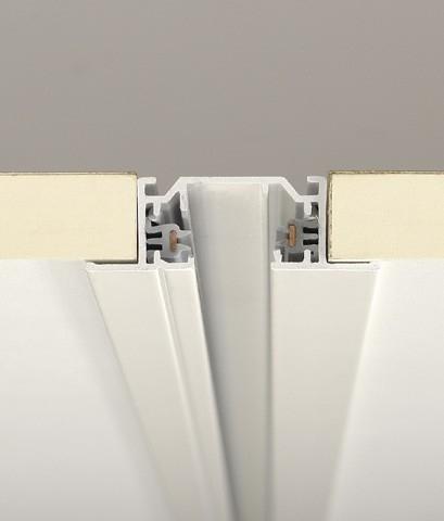 Single Circuit Lighting Track  Recessed