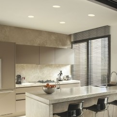 Led Kitchen Lights Diy Ideas For Cabinets Round Trimless Plaster-in Downlight