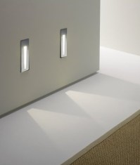 Bathroom Safe Tall Recessed LED Wall Light