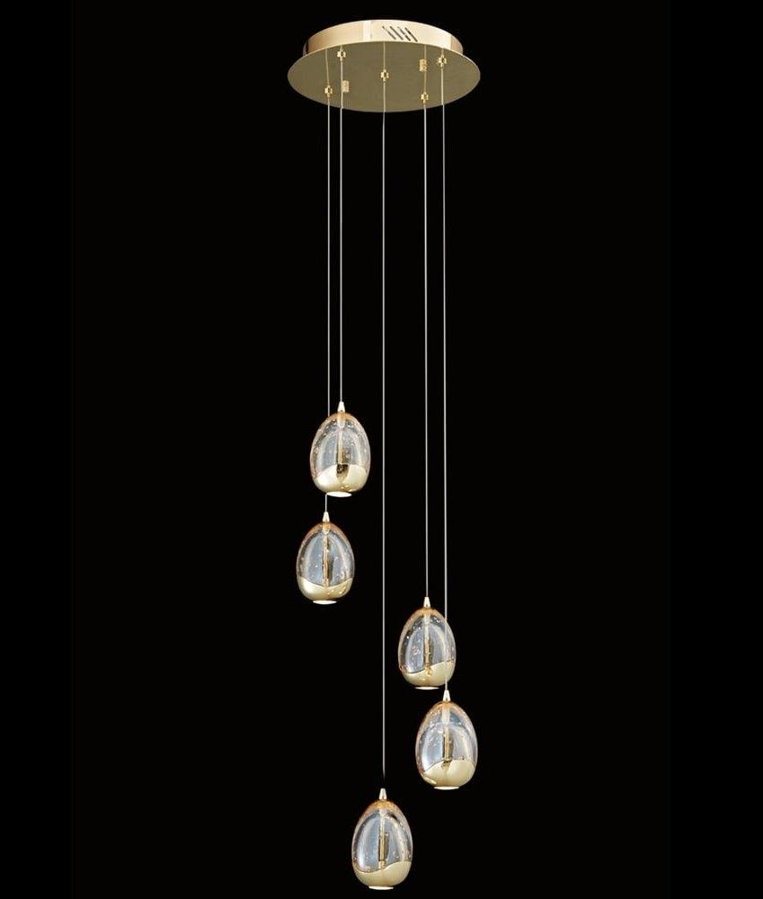 LED Light Pendants with a 15m Drop