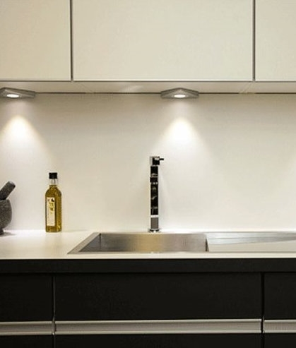 Triangular LED Undercabinet Lights  LowProfile Design