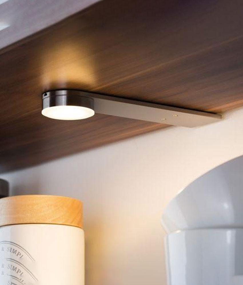 minimalist led over cabinet light 3 light kit with driver