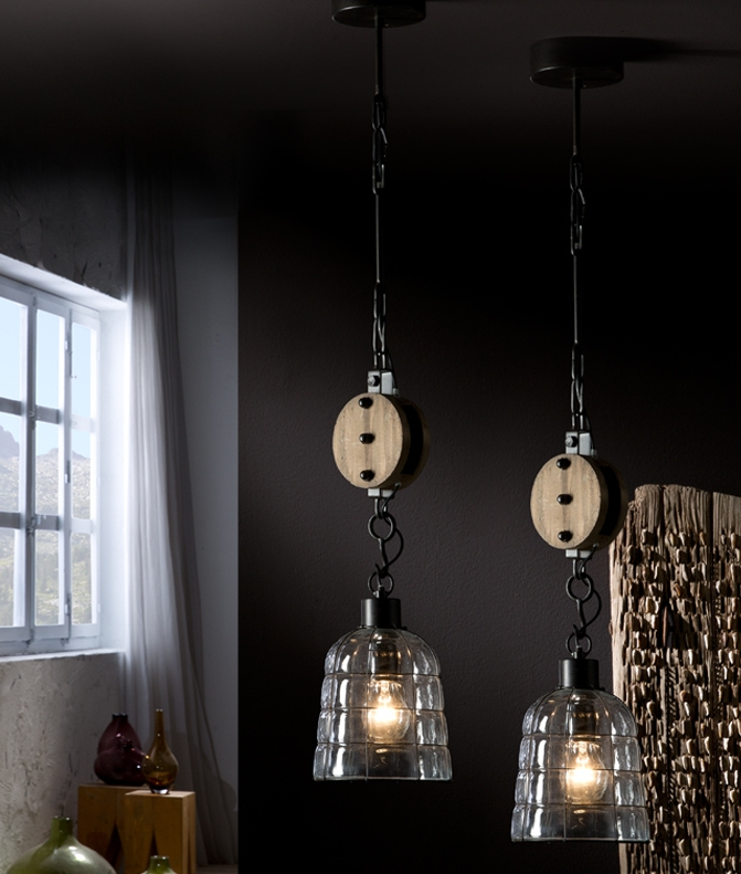 Rise Fall Pendant Light