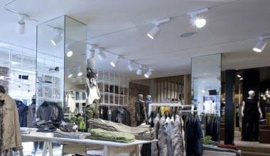Retail  Display Lighting  Lighting Styles