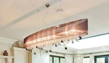 suspended and long drop light fixtures