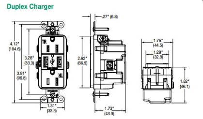 Usb Power Outlet Wireless Plug Outlet Wiring Diagram ~ Odicis