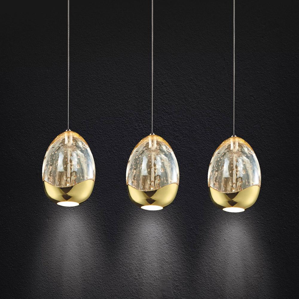 Illuminati Terrene Triple LED Pendant  Lighting Your Home