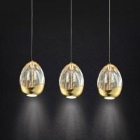 Illuminati Terrene Triple LED Pendant - Lighting Your Home
