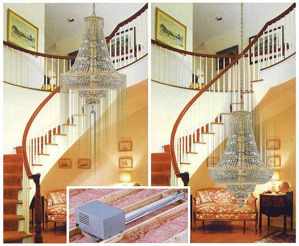 Chandelier And Light Lift Kits