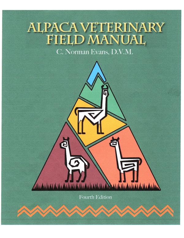 Dr Evans 4th edition field manual