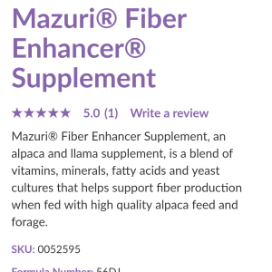Fiber Nutrient