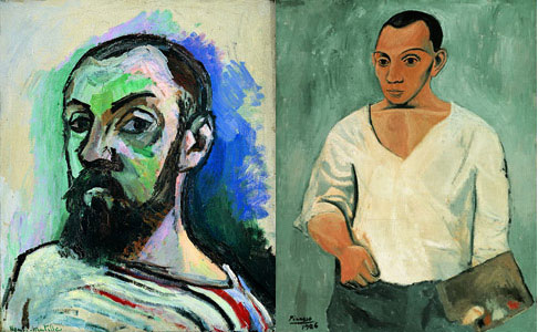 Light Millennium: Matisse Picasso - Two giants of the 20th Century's Modern Art met at the MoMA-QNS in New York