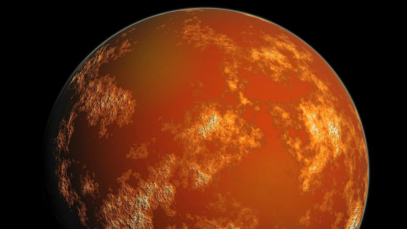 The chances of anything coming from Mars are a million to one
