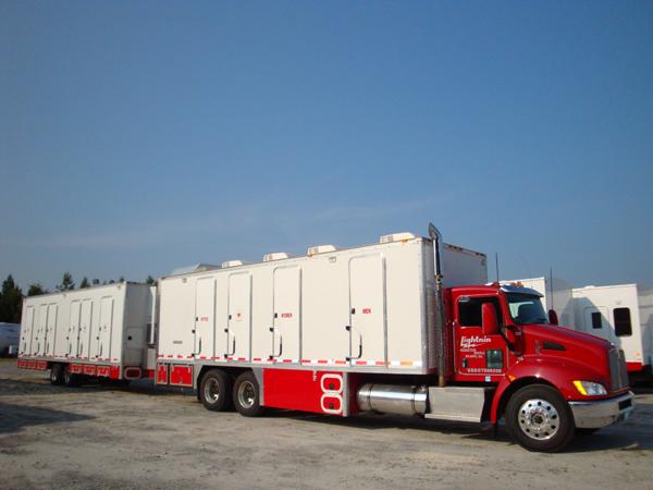 Honey Wagon with 70kW Generator  Lightnin Production