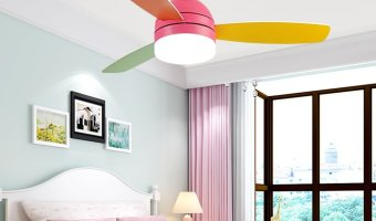 Ceiling Fans for Kids and Babies: Benefits & Safety Precautions