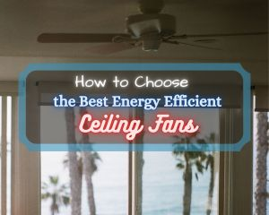 Best energy efficient ceiling fans