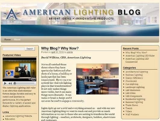 american lighting blog