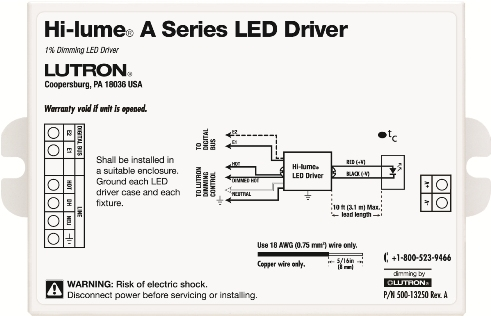 it one of the most versatile led drivers on the market  elv phase  control, 3-wire phase control and ecosystem digital control options  available