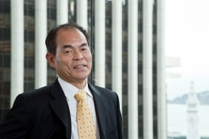 Dr. Shuji Nakamura, one of the founders of Soraa, Inc.