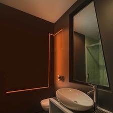 Contemporary Amp Vanity Bathroom Lighting Fixtures