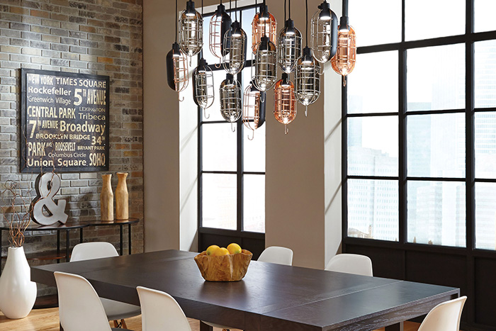 light kitchen table visualization tool how to a dining room lightology mekanic pendant by lbl lighting