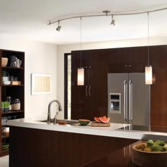 Lighting For Kitchen Stainless Steel Cart With Drawers How To Light A Lightology Monorail System Heads And Pendants