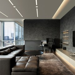 Living Room Recessed Lighting Images Of Modern White Rooms New Dots Dashes Lightology