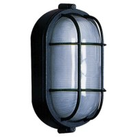 Marine Oval Wall Sconce by Artcraft | AC5662BK
