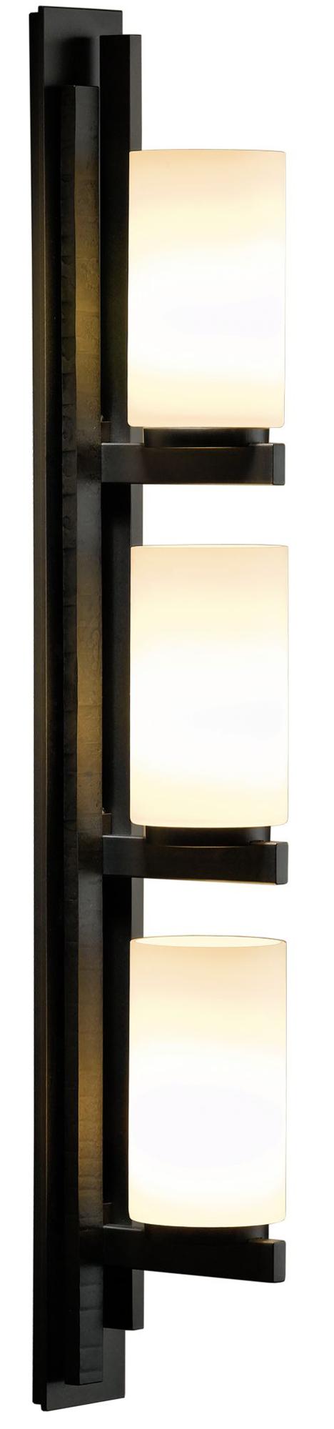 Ondrian Vertical Bathroom Vanity Light by Hubbardton Forge