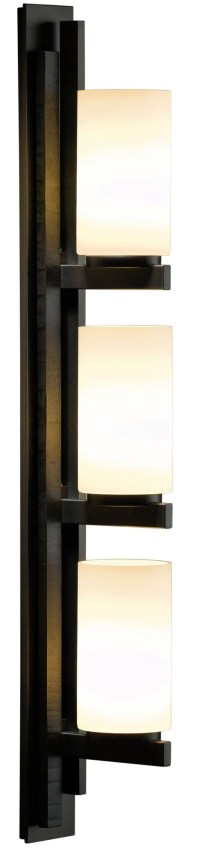 Ondrian Right Vertical 3 Light Wall Sconce by Hubbardton ...