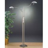 Dual Arm Pharmacy Floor Lamp by Holtkoetter | 6451 SN