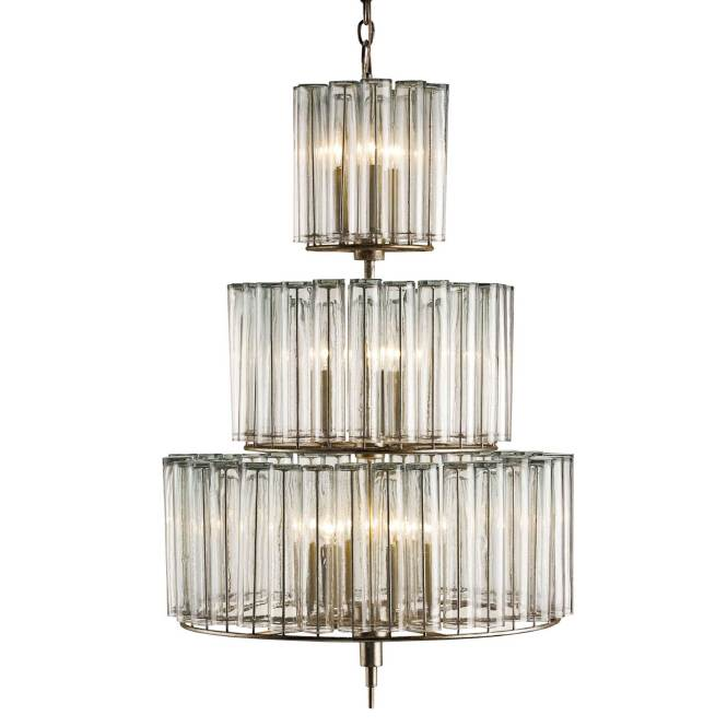 Bevilacqua Chandelier By Currey And Company 9309 Cc