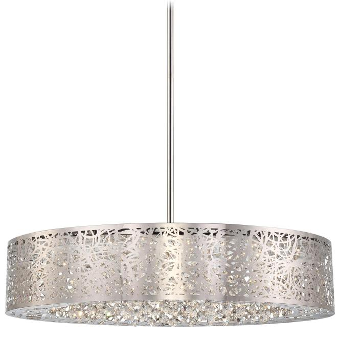 Hidden Gems Led Round Chandelier By George Kovacs P986 077 L