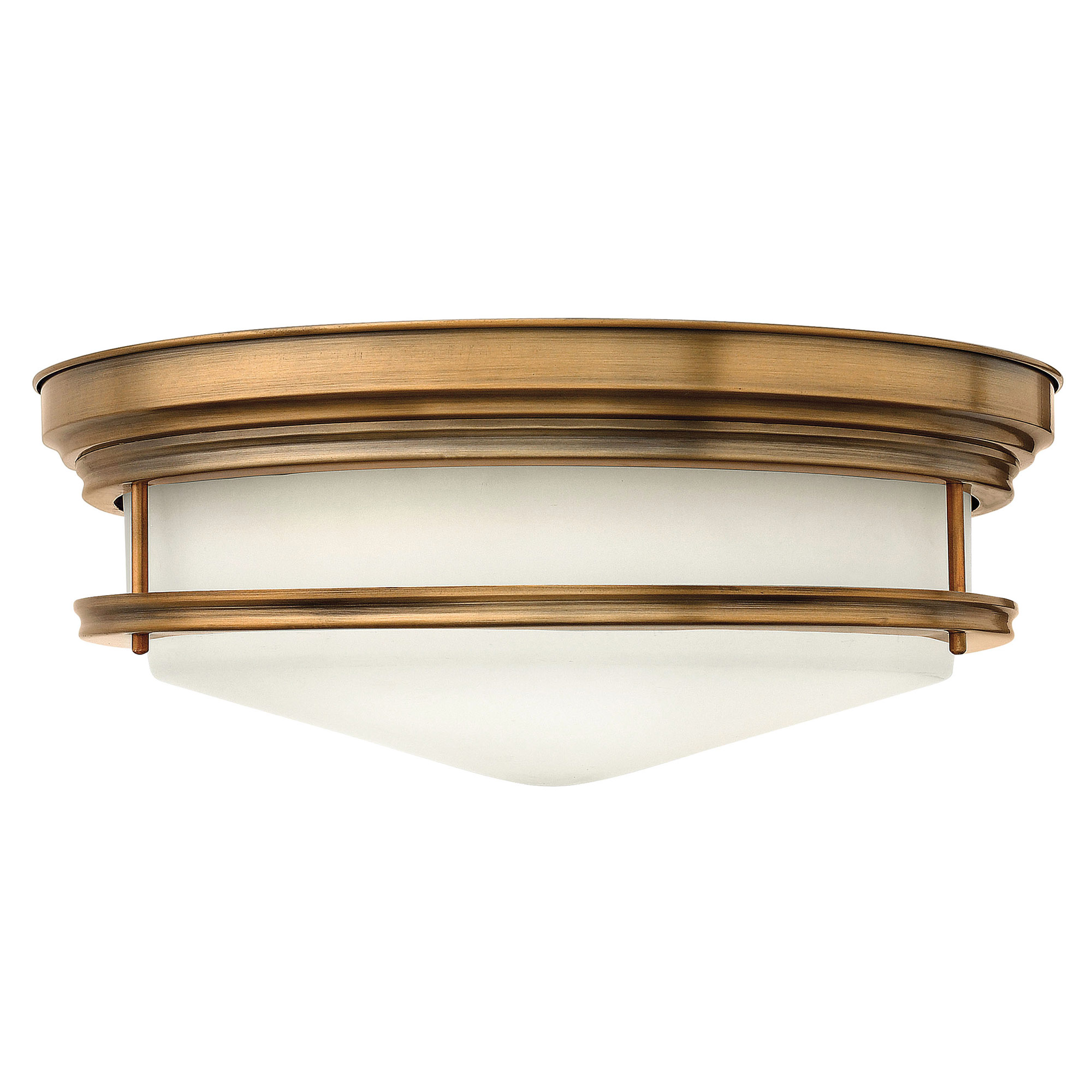 Hadley Ceiling Light Fixture Brushed Bronze by Hinkley