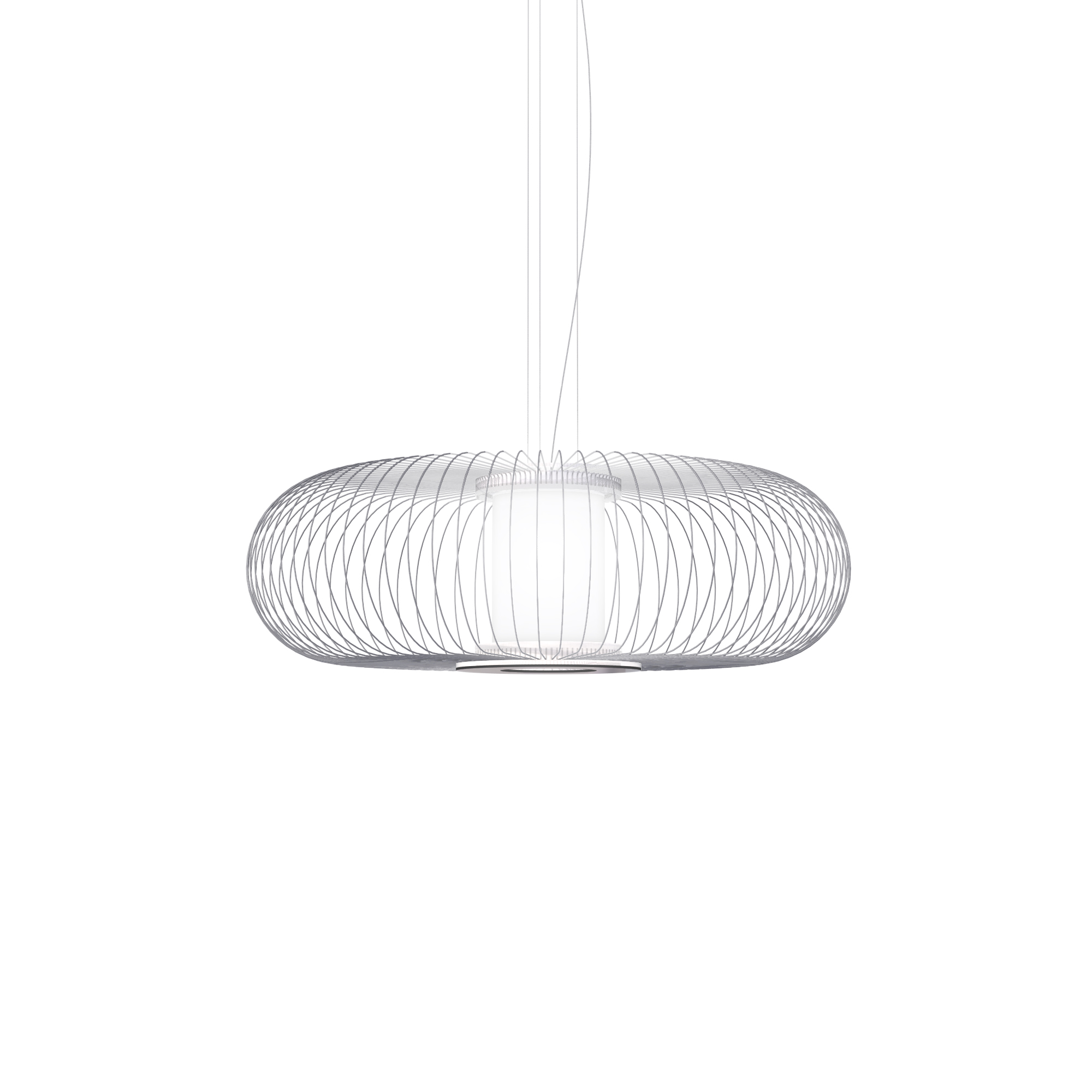 Acero Biscuit Led Pendant By Yellow Goat Design