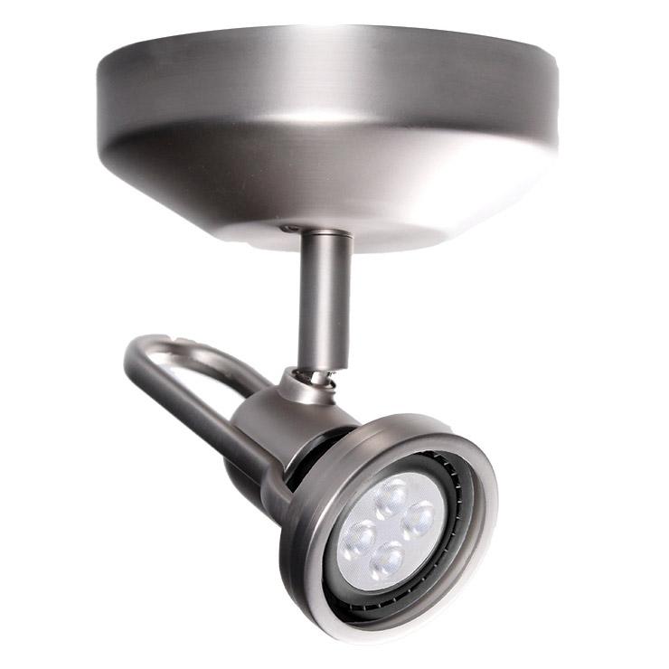 me 826 single spot light by wac lighting me 826led bn