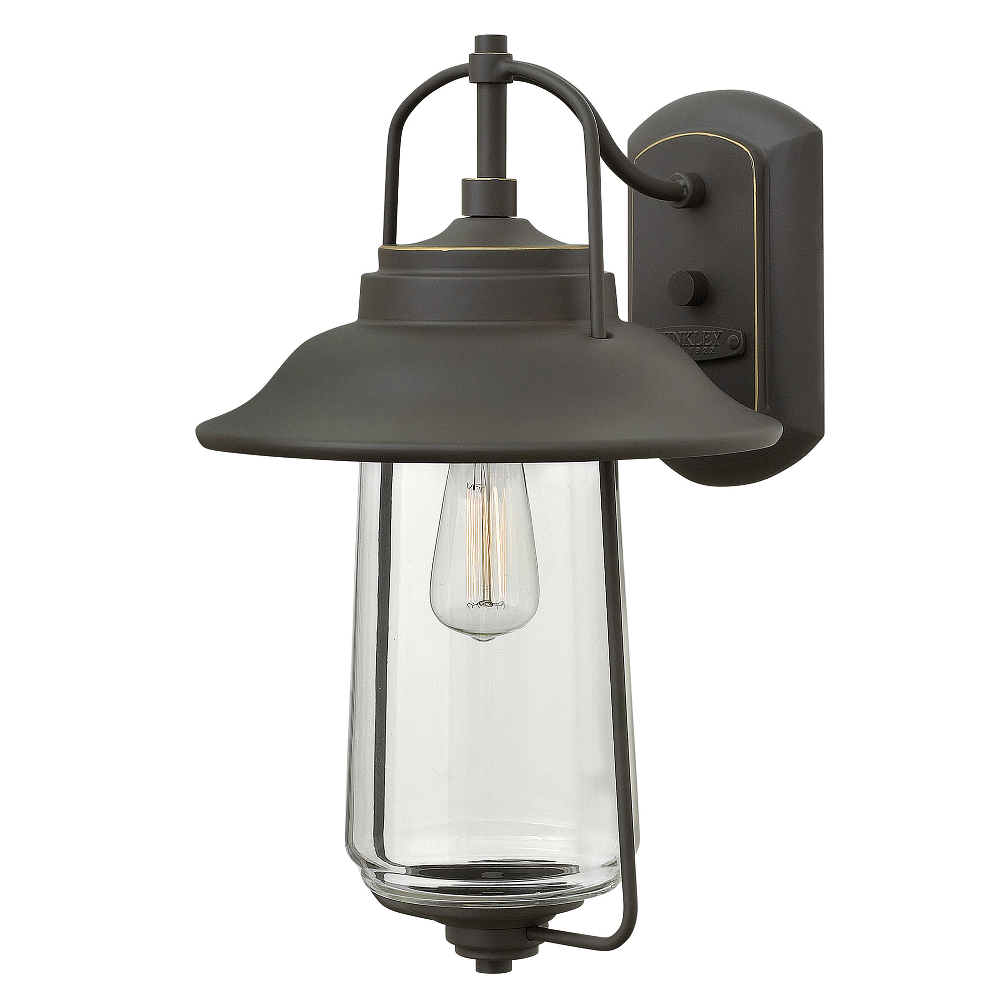 belden place large outdoor wall sconce by hinkley lighting 2864oz
