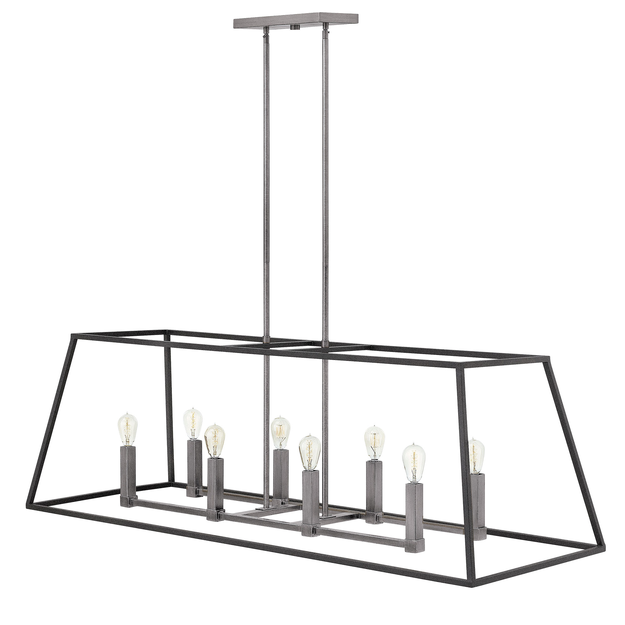 Fulton Double Linear Chandelier By Hinkley Lighting