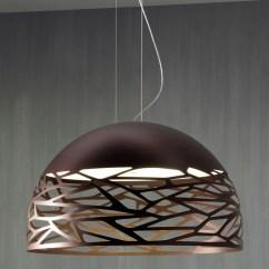 Bronze Kitchen Chandelier Tile Countertops Kelly Dome So1 Suspension By Studio Italia Design | 141309