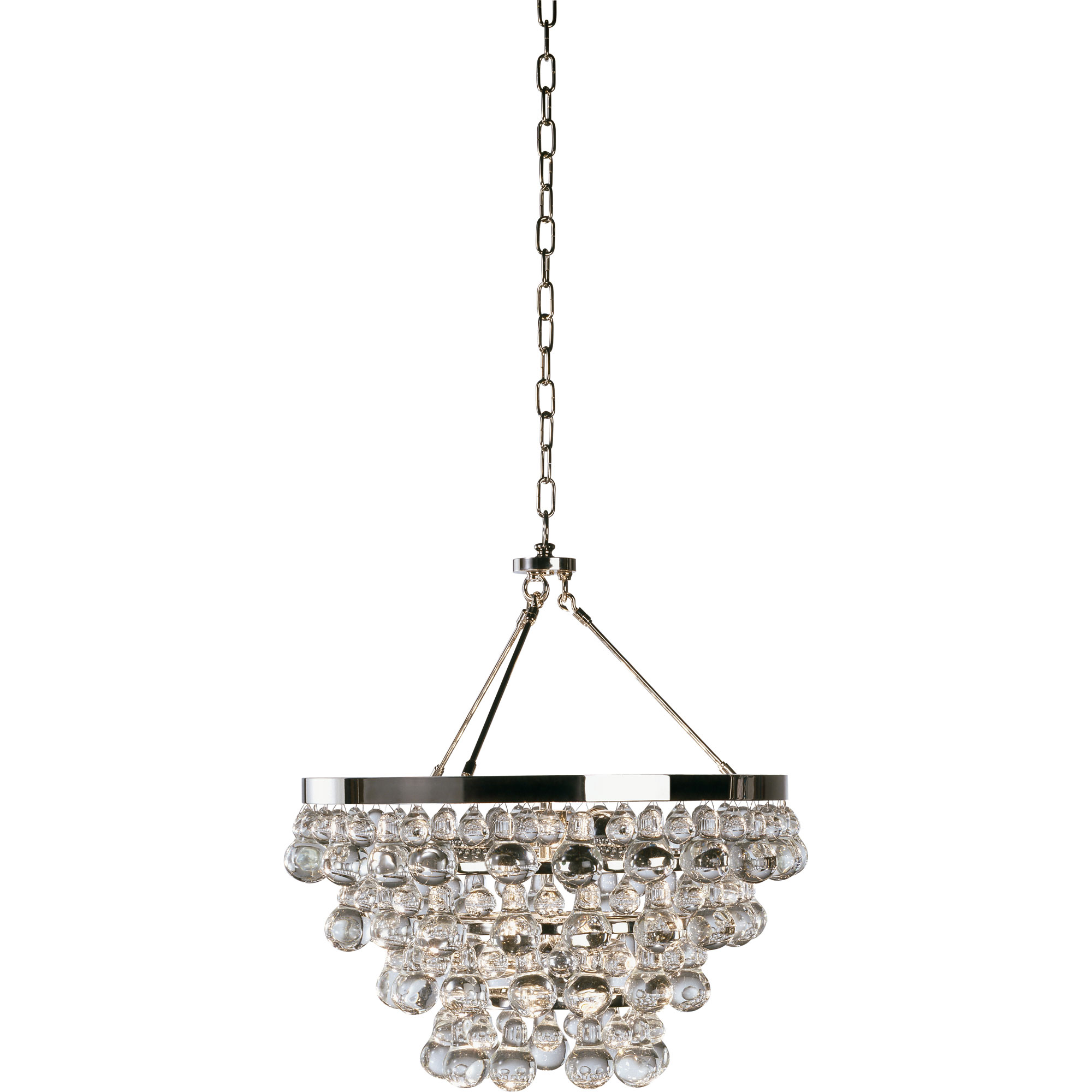 bling convertible chandelier by robert abbey ra s1000