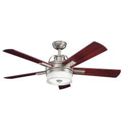 lacey ii ceiling fan with light by kichler [ 1200 x 1200 Pixel ]