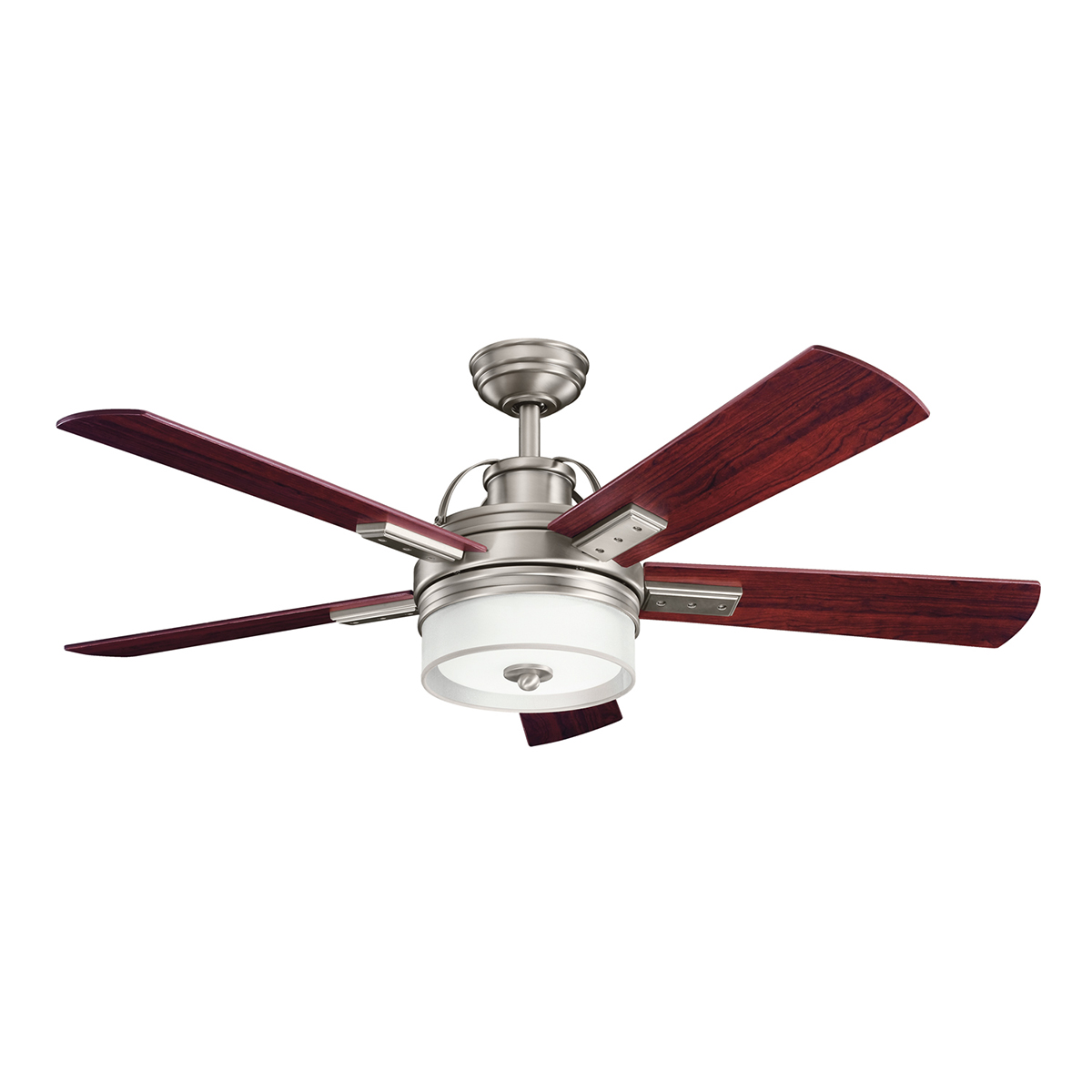 hight resolution of lacey ii ceiling fan with light by kichler