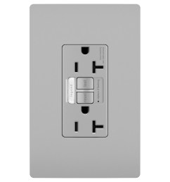 tamper resistant gfci 20 amp outlet with nightlight by legrand radiant [ 2000 x 2000 Pixel ]