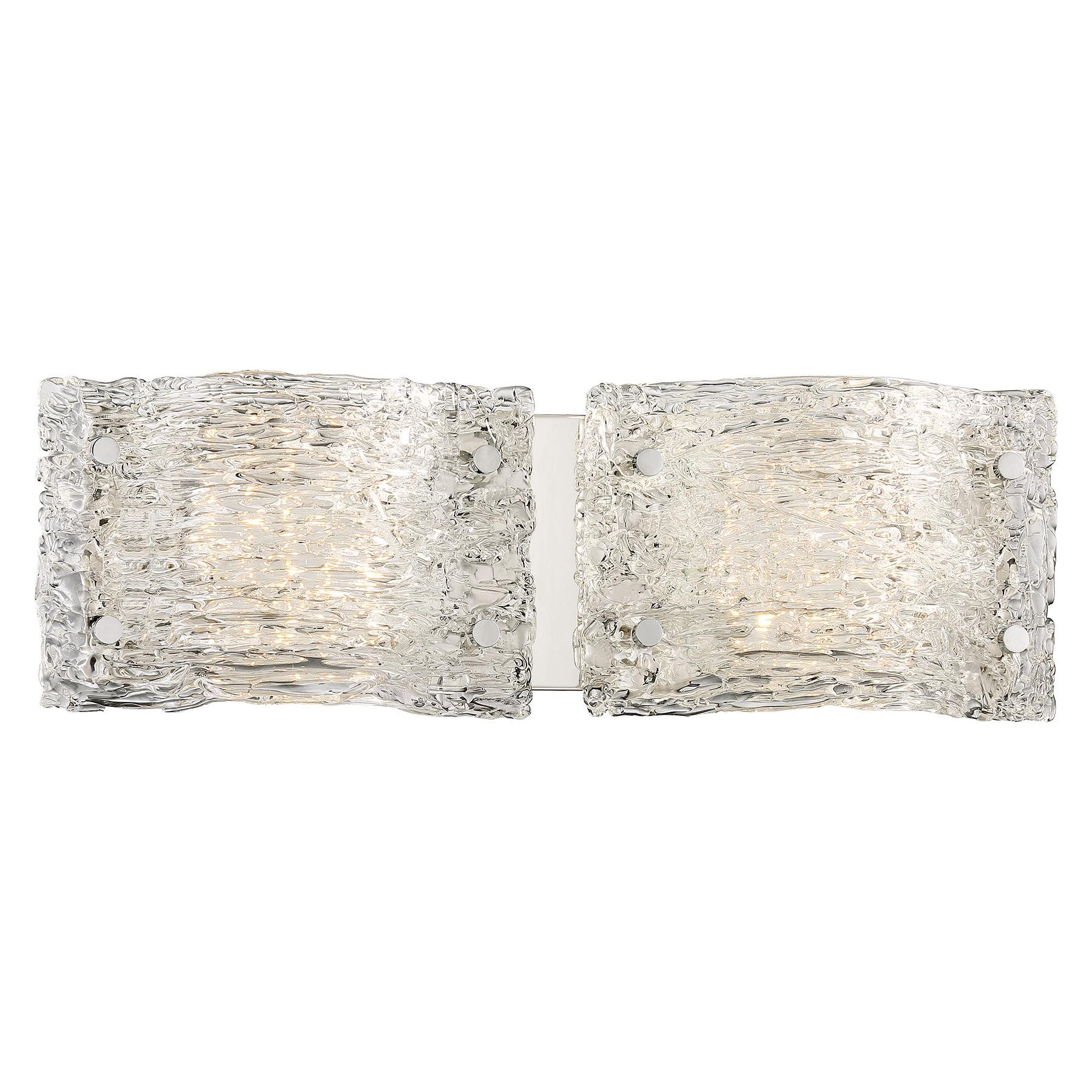 forest ice bathroom vanity light by george kovacs p5282 077 l