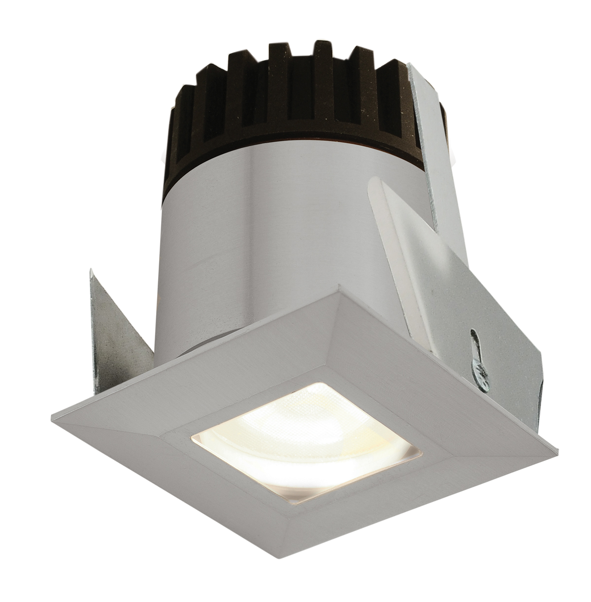 sun3c square led ceiling recessed by pureedge lighting sun3c hdl3 sq ww sa