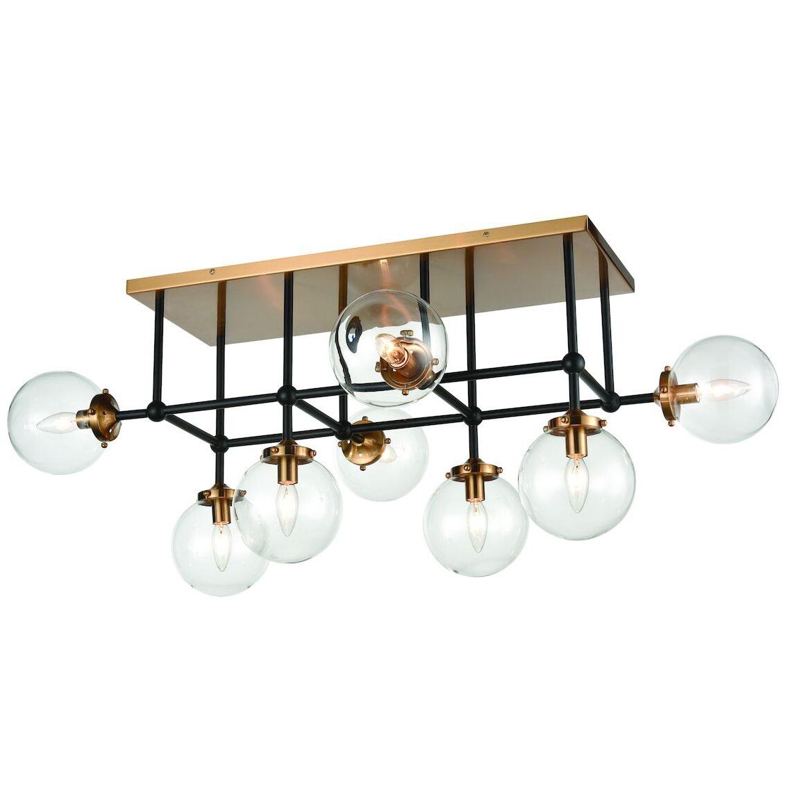 boudreaux 8 light semi flush ceiling light by elk lighting 15437 8
