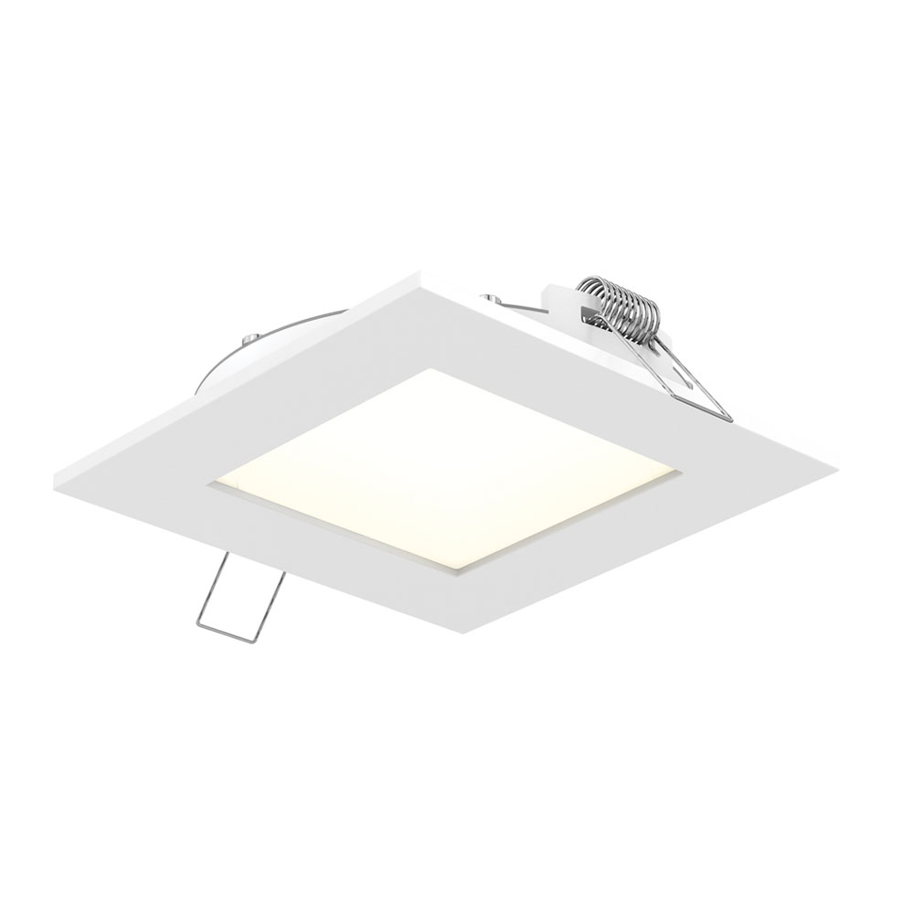 pro series 6in sq recessed panel light discontinued model by dals lighting 7006 sq wh